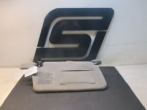 1995 Acura Integra Gsr Oem Factory Sun Block Mirror Reflector Visor Cloth Grey