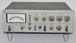 Hewlett Packard 339a Distortion Analyzer used Power On Tested Hp