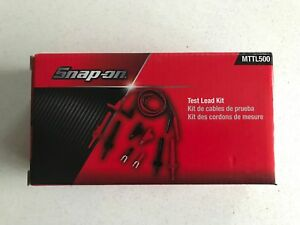 New Snap On Silicone Insulated Test Lead Kit Mttl500