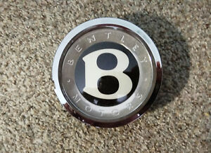 1 Genuine Oem Factory Bentley Self leveling Wheel Chrome Center Cap 3w0601170c