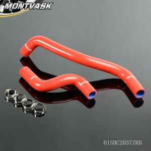 Silicone Radiator Hose Pipe Kit For Toyota Starlet Ep82 Glanza Gt Turbo 4e Fte