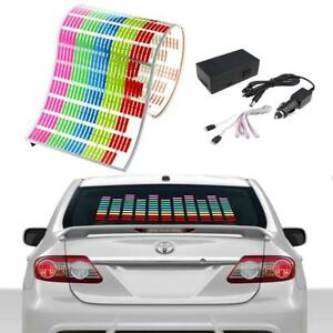 5 Color Sound Activated Car Sticker Music Rhythm Light Led Flash Lamp For Toyota