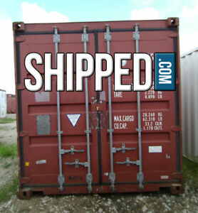 Used Shipping Container 40 Ft High Cube Secure Home Storage In Houston Texas