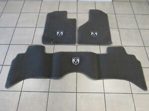 Dodge Ram1500 2500 3500 4500 5500 Dark Khaki Carpet Floor Mats Front