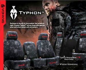Coverking Kryptek Rear Custom Car Seat Cover For Toyota 2013 2015 Ta