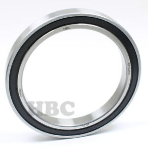 Radial Ball Bearing 6813 2rs With 2 Rubber Seals