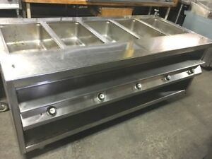 Steam Table Electric With 5 Bowls