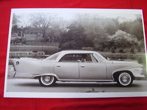 1960 Plymouth Fury 4dr Hardtop 11 X 17 Photo Picture