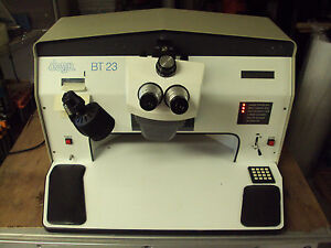 Dage Bt 23 Ball Sheer Tester Cambridge Instruments Stereo Zoom 7 Microscope