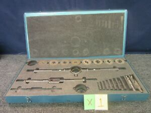 Little Giant Greenfield Tap Die Set 5 1 2 No 00043 Stock Wrench Nc Tool Kit