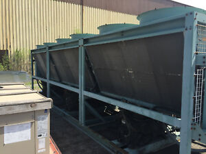 Used York 300 Ton Chiller Good Condition Was Working When Removed From Service
