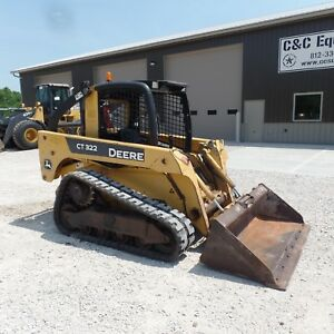 2008 John Deere Ct322 Tracked Skid Steer Nice Shape Video