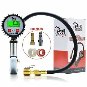 Pro Auto Gadgets Tire Pressure Gauge Inflator 200 Psi Digital Tire For Car