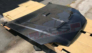 Mugen Style Carbon Fiber Hood For 1992 1995 Honda Civic Coupe Hatchback 2 3dr