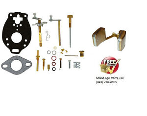 Complete Carburetor Rebuild Kit Float Ford 600 700 800 900 Series Tractor
