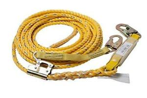 Guardian Fall Protection 01320 Vla 50 Poly Steel Vertical Lifeline Assembly