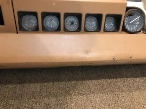 87 95 Jeep Wrangler Yj Dash Assembly Speedometer And Other Gauges Tan