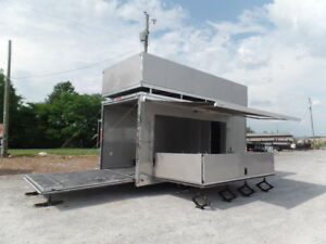 Concession 8 5x19 Arizona Beige Custom Stage Trailer