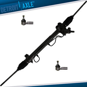 Complete Power Steering Rack And Pinion Both Outer Tie Rods For Toyota Camry