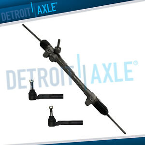 Electronic Steering Rack And Pinion Both Outer Tie Rods Chevy Aura G6 Malibu