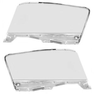 1965 66 Mustang Fastback Door Window Glass Assembly Pair right