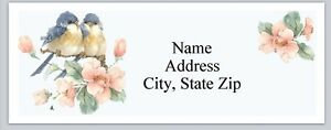 Personalized Address Labels Cute Bluebirds Buy 3 Get 1 Free bx 808