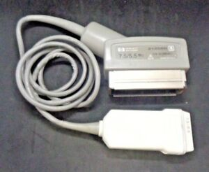 Hp 21258b Ultrasound Transducer Probe 7 5 5 5 Mhz