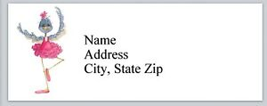 Personalized Address Labels Dancing Bluebird Buy 3 Get 1 Free bx 860
