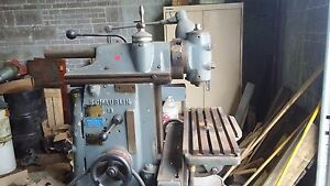 Schaublin Model 13 Precision Toolroom Milling The World s Top Brand