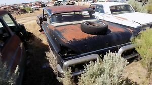 1957 Mercury 2 Door Hard Top Door Hinge Bolt Dry Desert Parts Car 1958