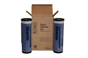 2 Blue Wholesale Widgets Brand Universal Inks Compatible With Riso Gr Rc Ra