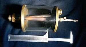 Antique Engine Drip Oilier Large With Chain Lever
