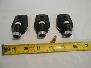 Welch Allyn Opthalmoscope Heads Qty Of 3 Used