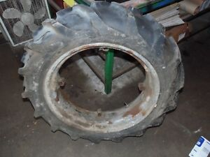 Farmall Cub Farm Tractor Rear Tire Rim 8 3 X 24 good