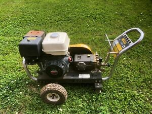 Used Landa Pg4 35321s Gas Engine Cold Water Pressure Washer
