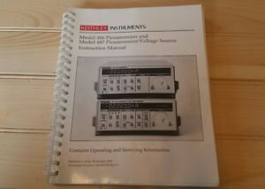 Keithley Instruments Model 486 487 Picoammeter Voltage Source Instruction Manual