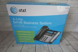 At t Small Business System 4 Line Corded Desk Work Phone Model 1070 Lot Of 2