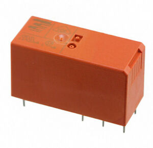 10 Pcs Bistable latching 2 coil Relays 5v Coil 16a Contact Spdt Rt314f05