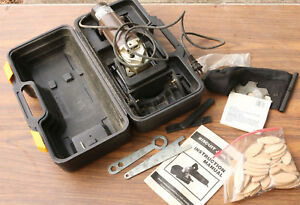 Biscuit Joiner With Biscuits Case Extra Blade Extra Brushes Gently Used Jointer