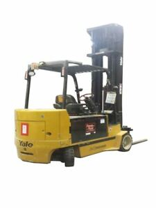 2005 Yale Electric Forklift 162783 Model Erc120hh n48te147 fa10103350