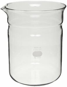 Corning Pyrex Glass 3 Liter Replacement Beaker 1010 bo E5