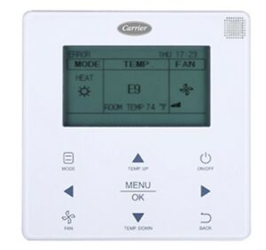 Carrier Vrf Programmable Wired Remote Controller 40vm900003 Indoor outdoor