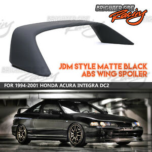 For 1994 2001 Acura Integra Coupe 3dr Abs Matte Black Jdm Rear Wing Spoiler Usa