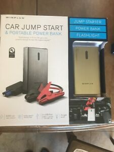 Winplus 8000 Mah Car Jump Start Power Bank Lithium Battery Fast Charger Bnip