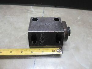Daewoo 12l 12 L Cnc Lathe Turret Tool Positions Alignment Holder Holding