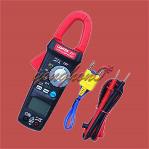 New Center 251 Clamp Meter hvac Trms Small size Portable 600v 10a