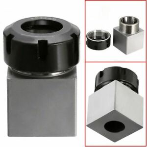 Steel Er 32 Square Collet Chuck Block Holder For Cnc Engraving Machine