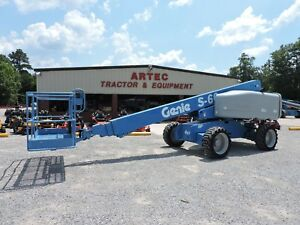 2006 Genie S60 Boom Lift Jlg 60 Reach 4x4 Very Good Condition