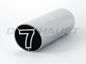 Different Trends Num 35007sl Slant Cut Sleeve Insert Stainless Exhaust Tip