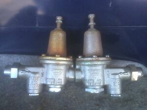 Watts Pressure Reducing Valve 135am3 1 2 Inch These Are Salvage Items